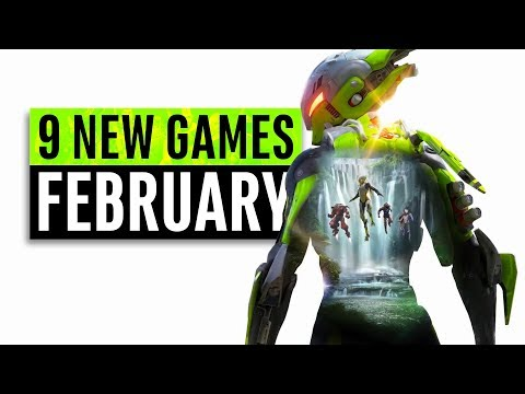 9 New Games Arriving in February 2019