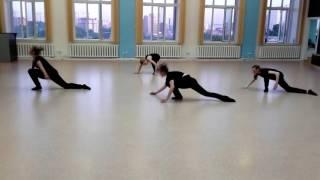 Открытый урок . Contemporary dance