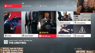 Hitman 2: The Undying (Elusive Target) [livestream archive]