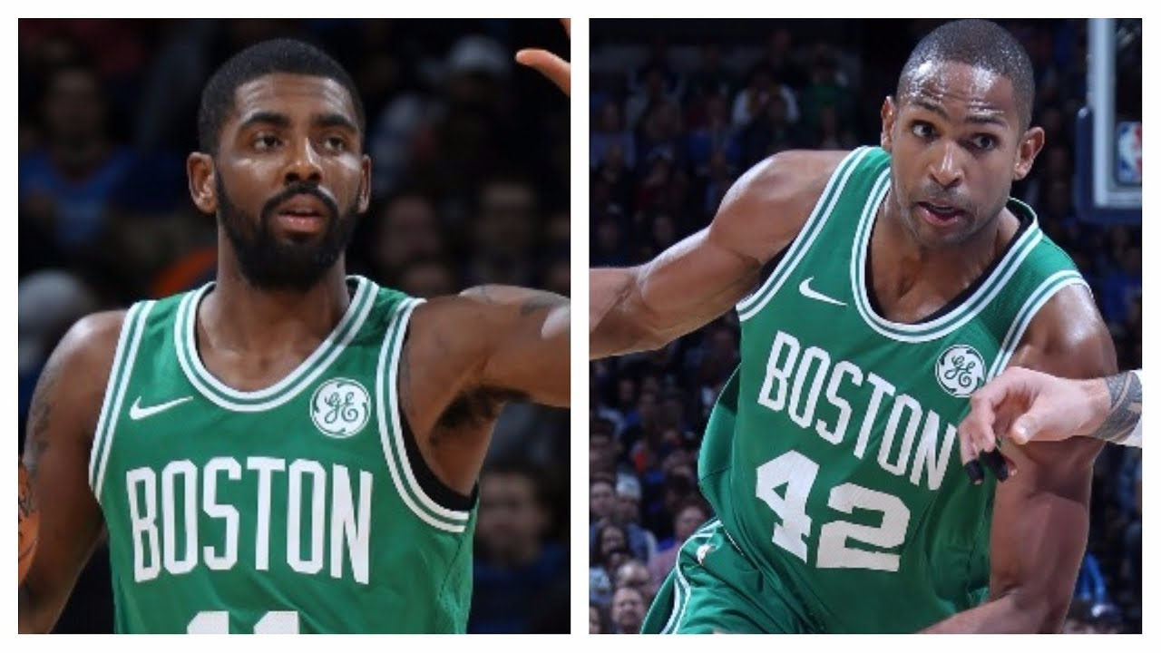 21a12755a44e Kyrie Irving and Al Horford Lead Celtics to Comeback Win vs. Thunder ...