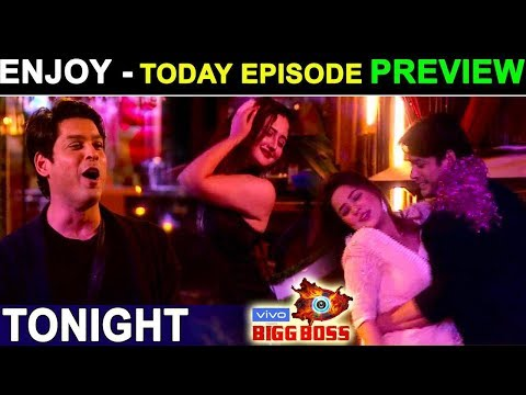 Biggboss 13, Today Episode Preview, Tuesday, Sana Siddharth Dance, New Year Celebration With Celebs