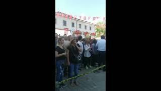HALK BANKASI YANINDA SİLAHLI SALDIRI