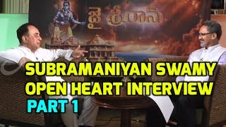 BJP MP Dr.Subramanian Swamy Special Interview in Bhaarat Today | Senior Journalist Nagesh Kumar |