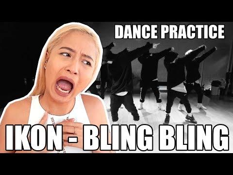 IKON BLING BLING DANCE PRACTICE REACTION