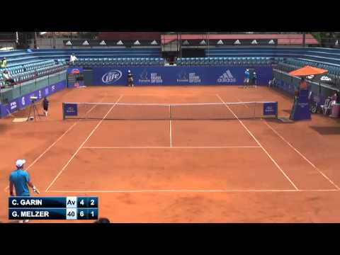 Christian Garin vs Gerald Melzer - 1st - Challenger de Panama City 2014