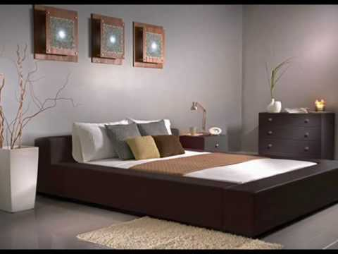 Asian bed design room style
