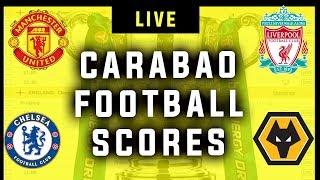 Live Football Scores - EFL Carabao Cup (Man Utd vs Rochdale, MK Dons vs Liverpool) + More!