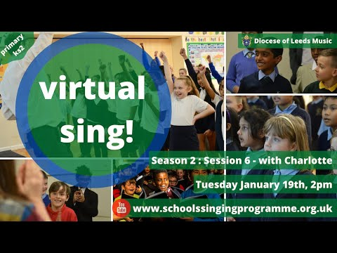 Virtual Singing Session! Season 2 : Session 6 - with Charlotte