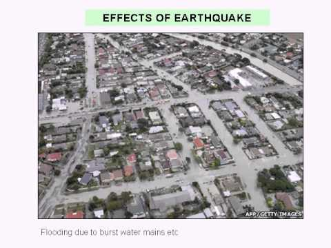 What are the causes & effects of an earthquake Christchurch NZ ...