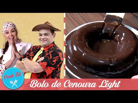BOLO DE CENOURA FIT | COOK FIT | Matheus Ceará E Dani Iafelix