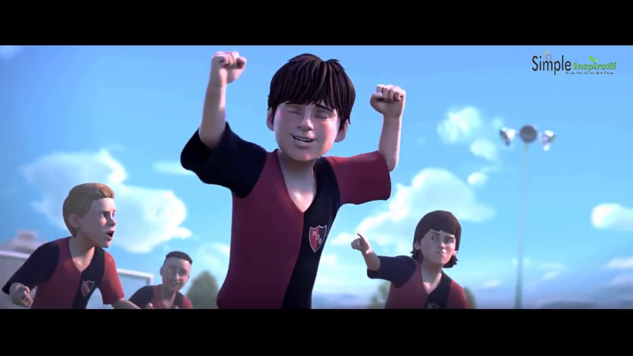 Inspirational Animation The Story Of Lionel Messi S Life S Journey