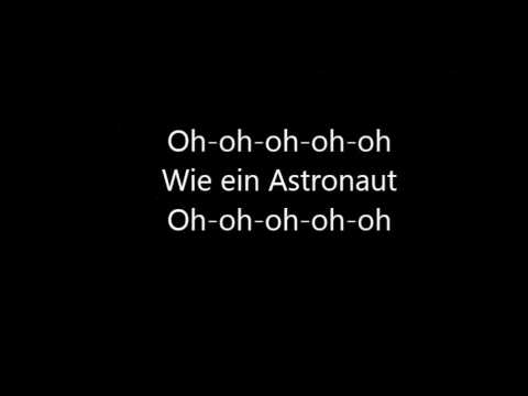Sido feat. Andreas Bourani - Astronaut (lyrics)