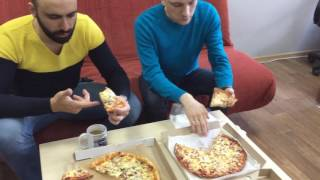 The ОФИС - обзор доставок пиццы Сахалин
