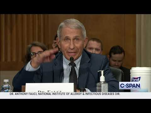 """Dr. Anthony Fauci: """"Senator Paul, you do not know what you are talking about..."""""""