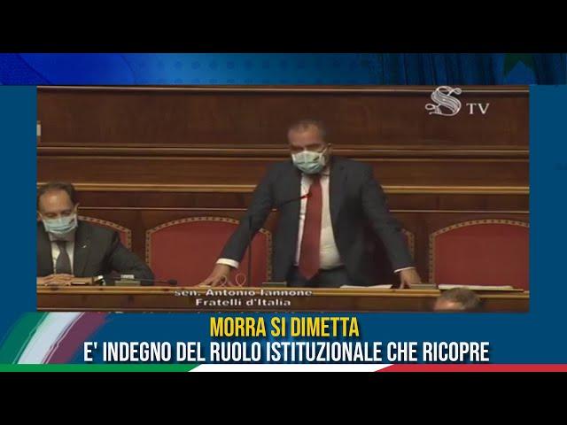 L'intervento del Sen. Iannone sulle dichiarazioni di Morra