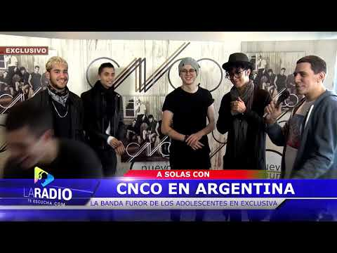 CNCO en Argentina 📽: La Radio