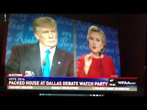Ari on ABC TV  (Interview at Alamo Drafthouse Cinema During Debate)