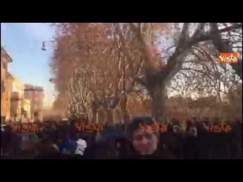 Festa di Roma, la folla sui ponti