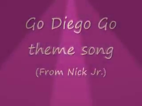Go diego go songs lyric thumbnail