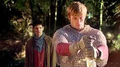 Merlin - Arthur pulls Excalibur from the stone 4x13.