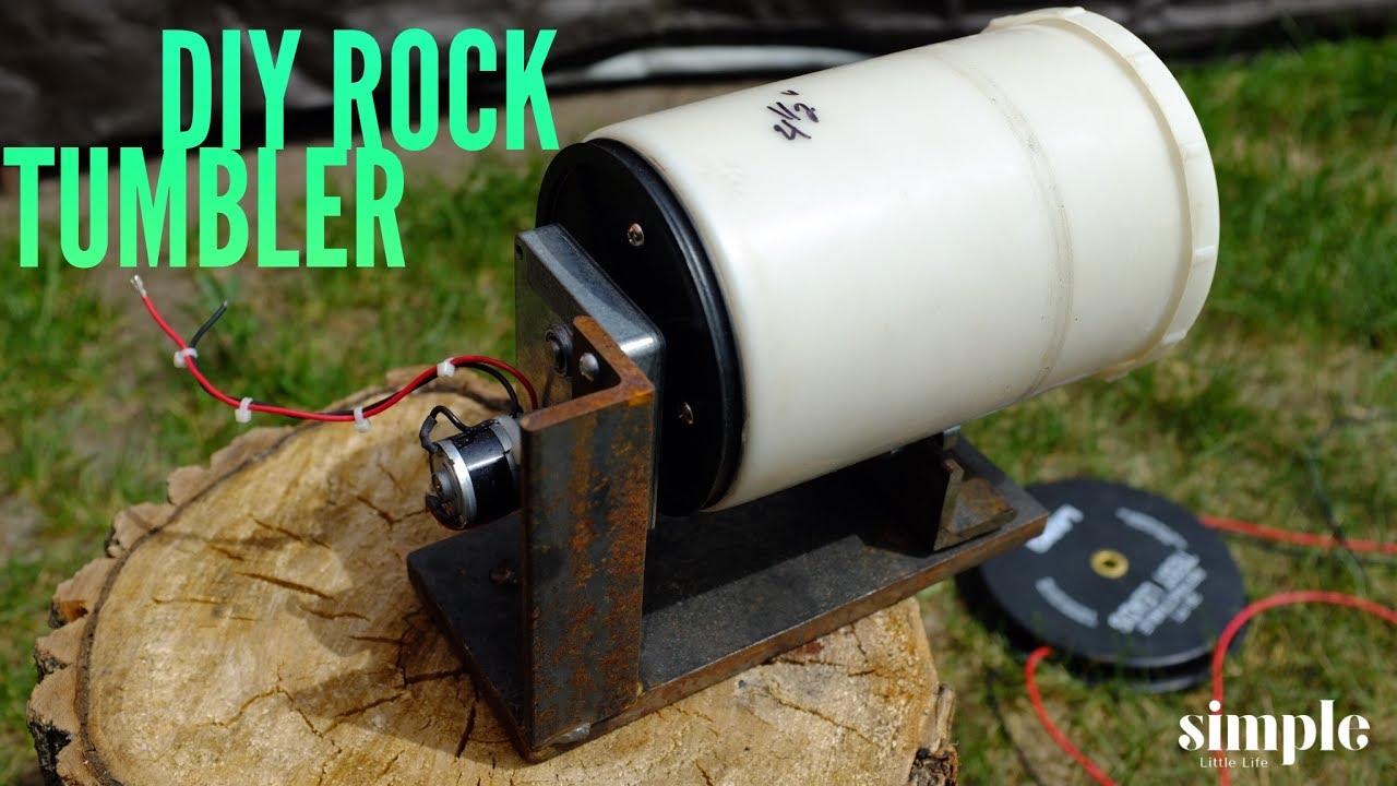 How To Make A Rock Tumbler Dirty Maker Movement