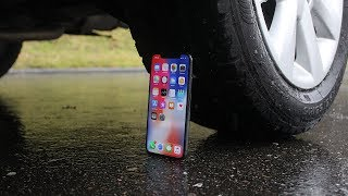EXPERIMENT: CAR VS IPHONE X
