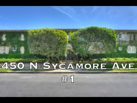 450 N Sycamore #1, Los Angeles CA 90036
