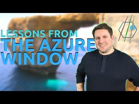 Azure Window - Travel Philosophy Reinforced