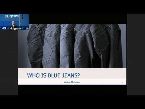 Introducing Blue Jeans Cloud-Based Video Conferencing