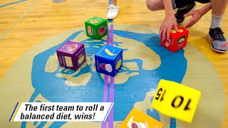 Buy here: https://goo.gl/f8ghkk ---------------------------------------- roll your way to a healthier lifestyle! in this dice game for kids, teams their...