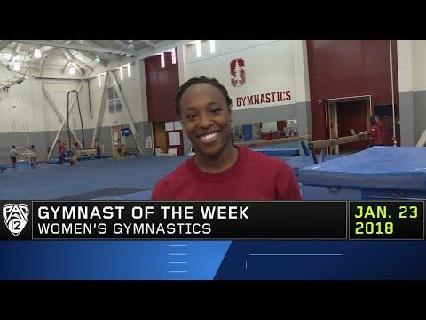Stanford's Elizabeth Price named Gymnast of the Week after posting career-high in All-Around
