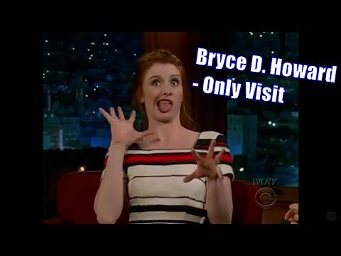 Bryce Dallas Howard  Discusses Backstage Of Christian Bale Freak Out  Only Appearance 480