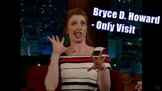 Bryce Dallas Howard - Discusses Backstage Of Christian Bale Freak Out - Only Appearance [480]