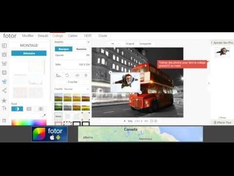 fotor - Site de montage photo gratuit en ligne