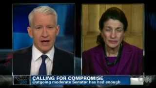 Fiscal Cliff: Olympia Snowe (Republican) calls for reasonable compromise (November 8, 2012).m4v