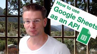 Google Sheets API - How You Can Access Any Google Spreadsheet Using An API