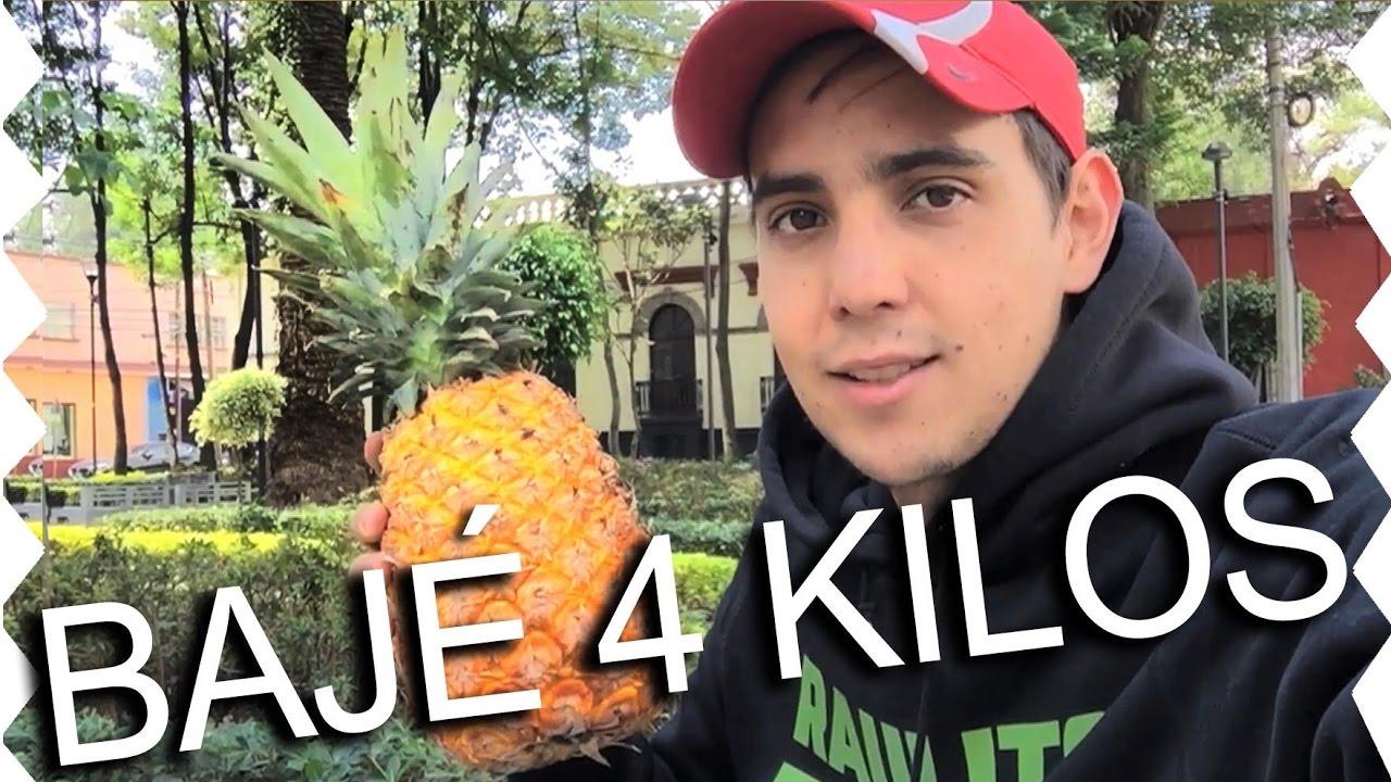 Como adelgazar comiendo solo fruta