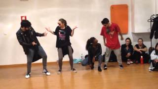 demarco badness top secret riddim tina choreography