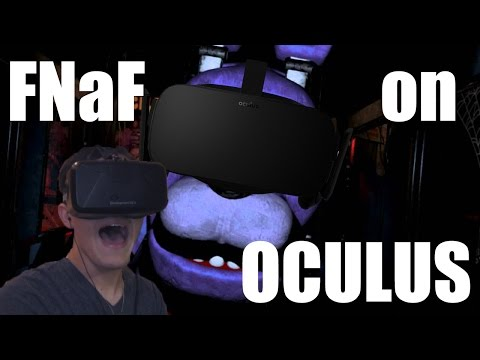 Lets Play: FIVE NIGHTS AT FREDDY'S OCULUS (One Nights at Freddy's 3D)
