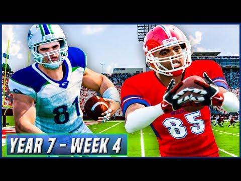 NCAA Football 14 Dynasty Year 7 - Week 4 vs Fresno State (MWC Opener) | Ep.114