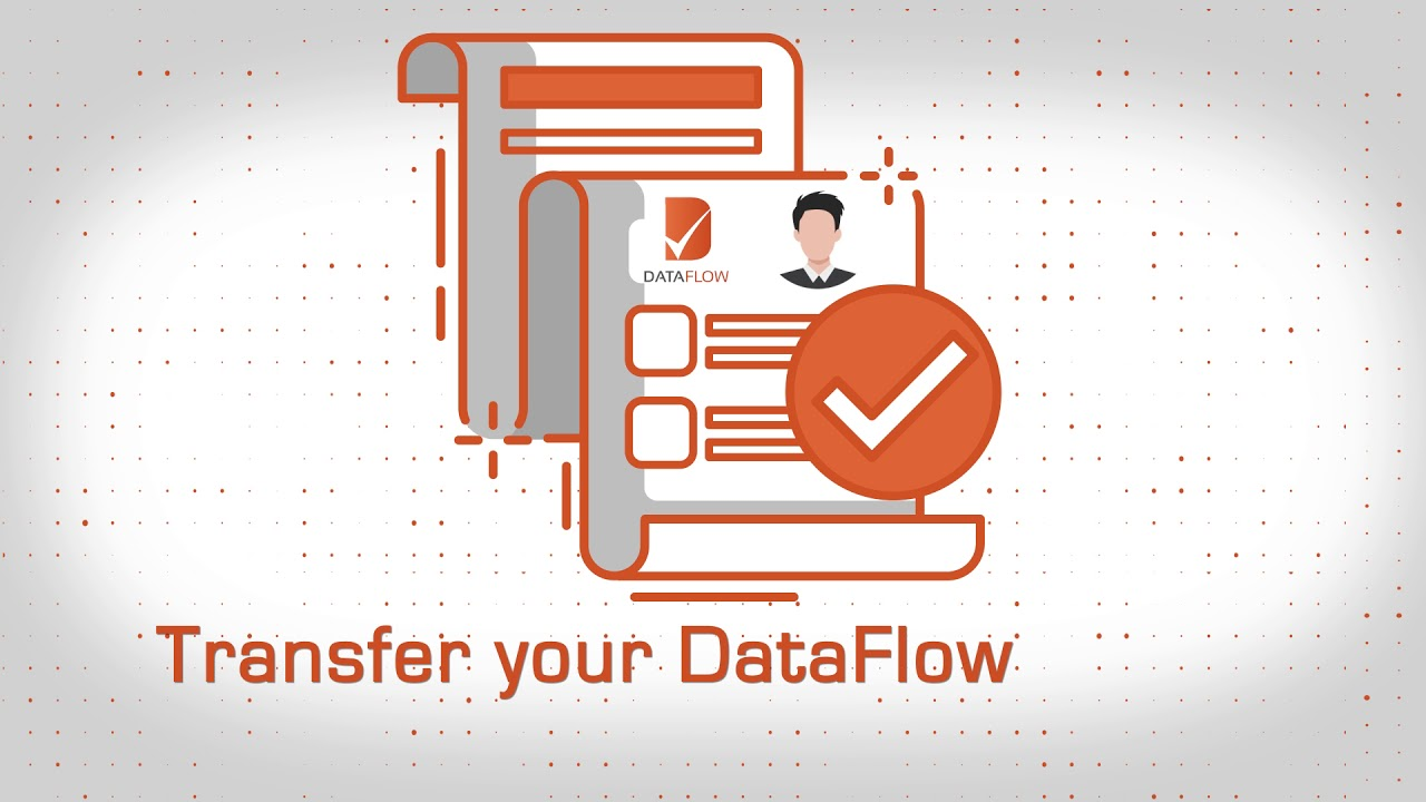 How can I transfer my DataFlow Report to TrueProfile io?