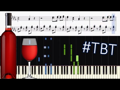 UB40 - Red Red Wine - Piano Tutorial + SHEETS