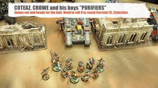 Battle report Deathwatch vs Grey Knights game 3