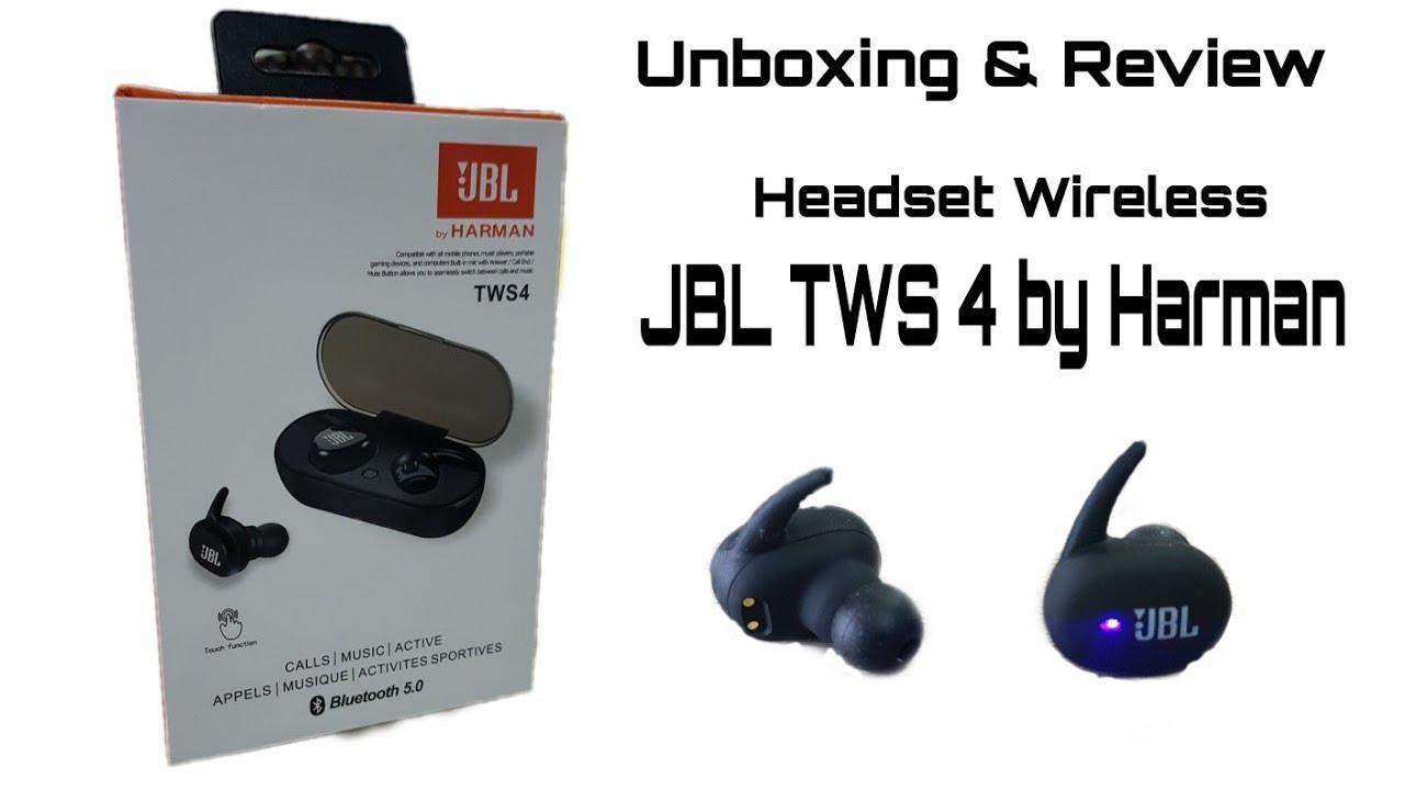 Unboxing Review Jbl Tws 4 Murah Dan Berkualitas Youtube