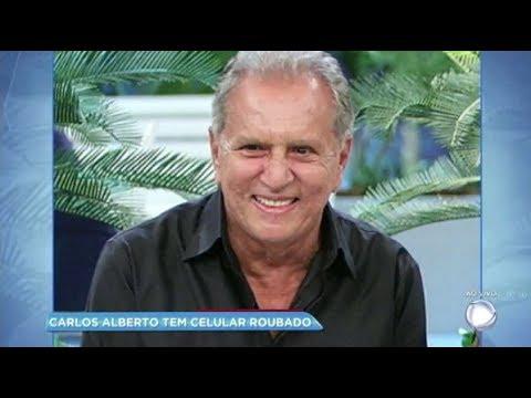 Hora da Venenosa: Carlos Alberto de Nóbrega tem celular roubado por bandidos