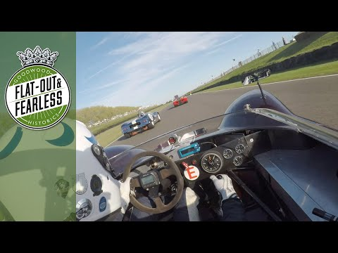 Crazy On-board Ride With A Hamill SR3 At The Goodwood Revival