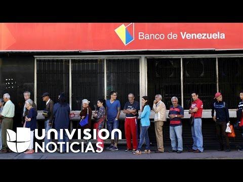 Escasez de efectivo agudiza la crisis económica en Venezuela