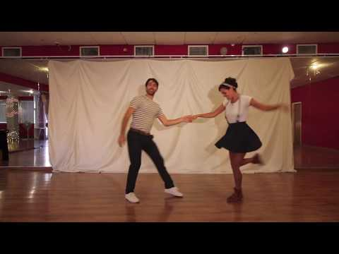 DanceTLV - Lindy Hop Teachers Showcase - Hagay Moran and Gefen Solberg