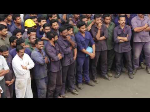 Flash Mob in Cochin Shipyard Limited-2016