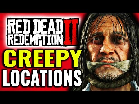 Creepy Locations in Red Dead Redemption 2 thumbnail